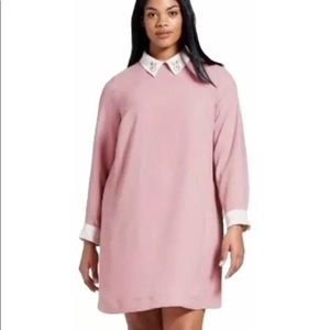 Victoria Beckham Blush Pink Rabbit Collar Dreams M